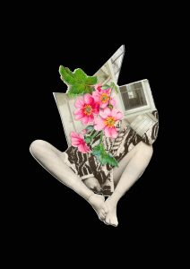 Tailleur fleuri