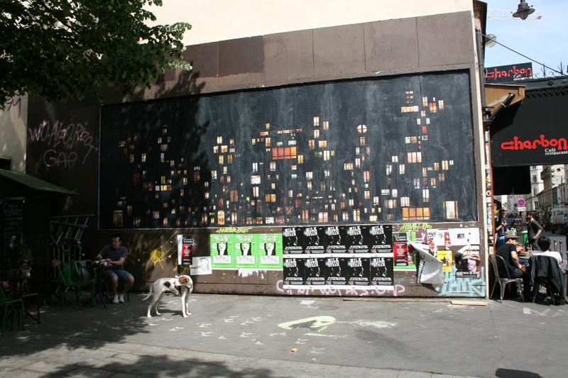 Tableaux d'intimités, Le Mur
