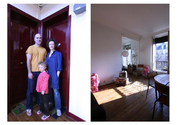 Derrière la porte, portraits intime